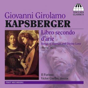 Giovanni Girolamo Kapsberger Libro secondo d'arie Il Furioso CD Cover