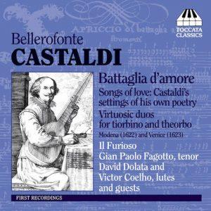 Bellerofonte Castaldi Battaglia d'amore CD cover